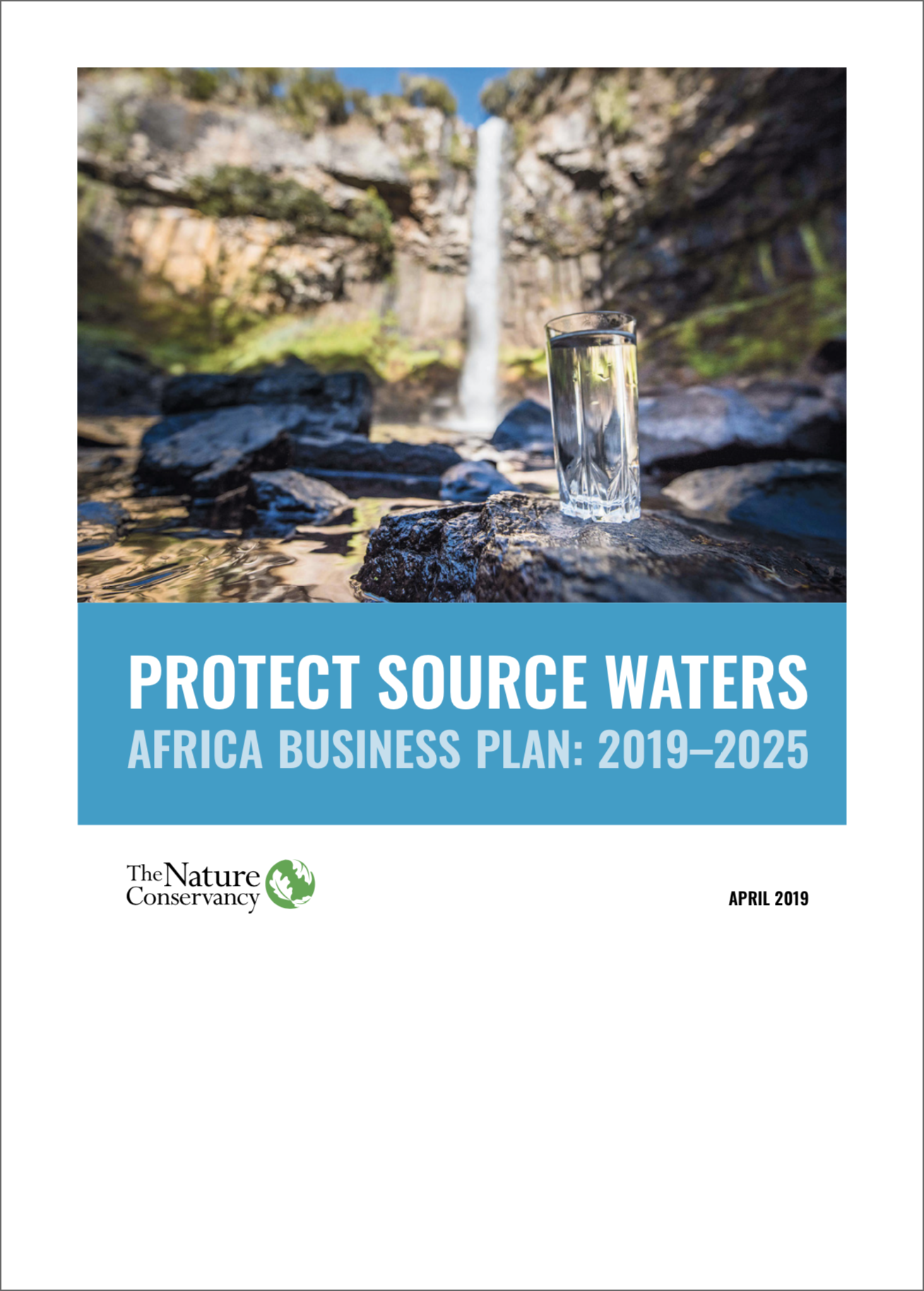 Source Waters Report Cover