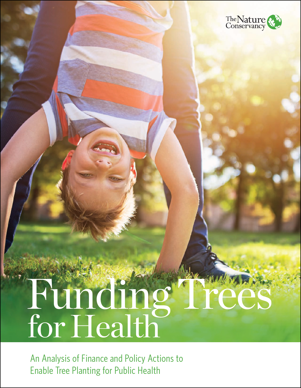 Report Cover - Funding Trees for Health