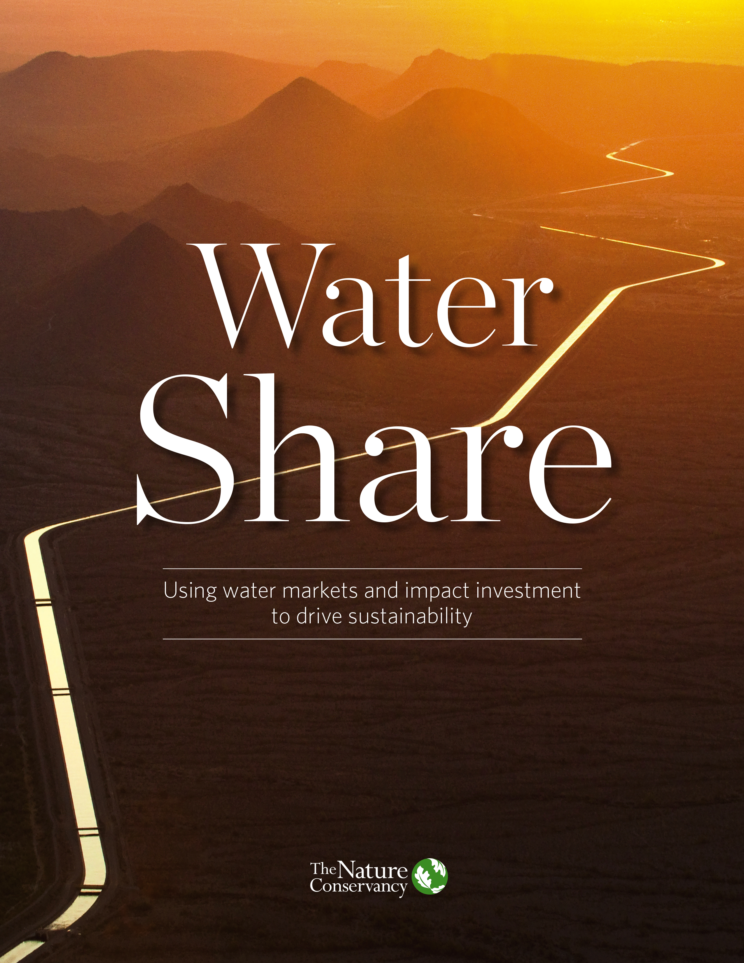 Cover of Water Share report